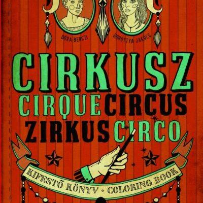 cirkusz kifestő könyv